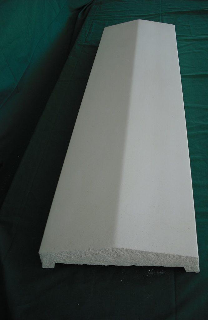 Cubremuro 23x8x100 cm. Balaustre Sol