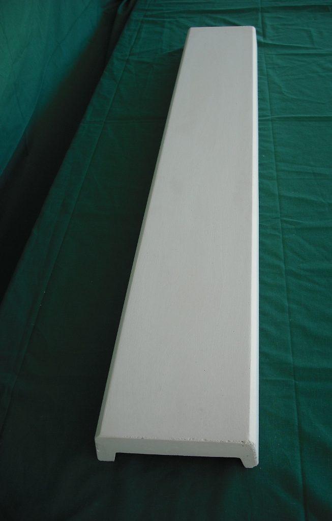 Cubremuro 12x5x100 cm. Balaustre Sol