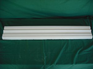 Recercado liso pieza 100x16x4 cm. Balaustre Sol