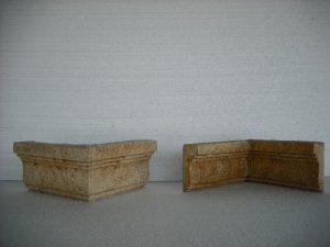 Esquinas envecidas (saliente y entrante) modelo Monasterio - Balaustre Sol