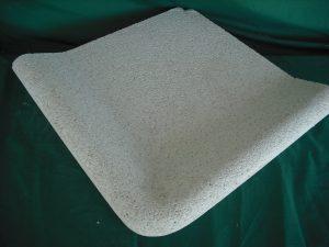 Coronación Piscinas: ängulo inverso pulida: 49x49 cm. - Balaustre Sol