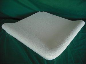 Coronación Piscinas: ängulo inverso grabada: 49x49 cm. - Balaustre Sol