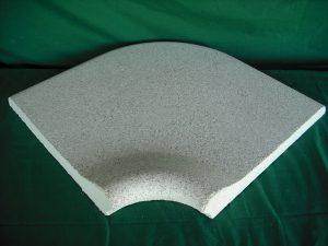 Coronación Piscinas: Ángulo curvo pulida 50x50 cm. - Balaustre Sol